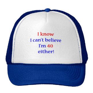40 Either Trucker Hat