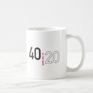 40 es la nueva 20 taza VI