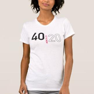40 es la nueva camisa 20