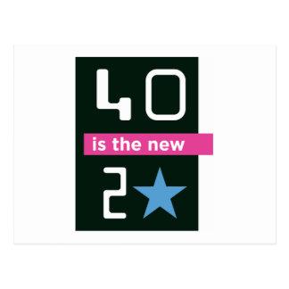 40 es la nueva postal 20