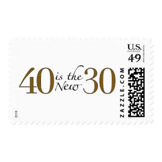 40 es los nuevos 30 sellos