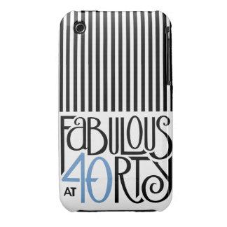 40 fabulosos iPhone azul negro 3 Barely There Case-Mate iPhone 3 Coberturas