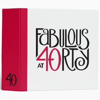 """40 fabulosos rojo negro Binder2 Carpeta 2"""""""
