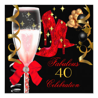 40 And Fabulous Invitations & Announcements | Zazzle - photo#7