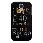 40 forty fortieth 40th party reunion celebration samsung galaxy s4 covers