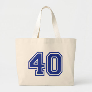 40 - Fourty Tote Bags