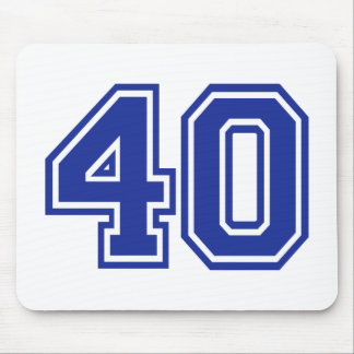 40 - Fourty Mouse Pad