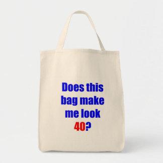 40 hace este bolso bolsa tela para la compra