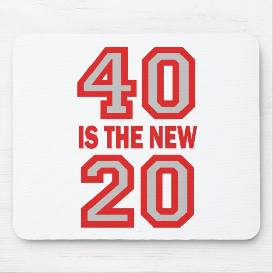 40 is the new 20 mouse pad