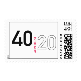 40 is the new  20 stamp II