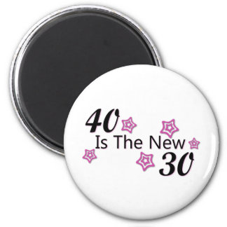 40 is the new 30 magnet