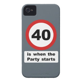 40 is when the Party Starts iPhone 4 Case-Mate Case