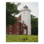 40 Mile Point Lighthouse Print