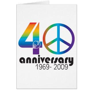 40.o Aniversario 1969-2009 Felicitaciones