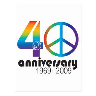 40.o Aniversario 1969-2009 Postal