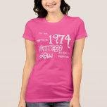 40.o Brew del vintage del regalo de cumpleaños Camisetas