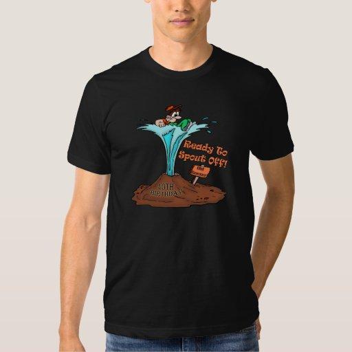 40.o Camisetas y regalos del cumpleaños Playeras