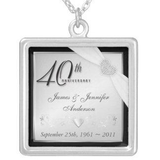 40.o Colgante conmemorativo del aniversario