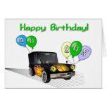 40.o cumpleaños del hijo tarjeta de felicitación
