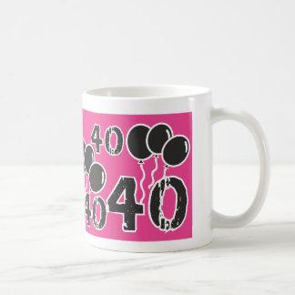 40.o cumpleaños del ROSA y del NEGRO - 40 años de Taza