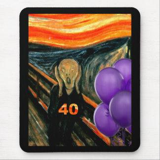 40.o cumpleaños divertido alfombrilla de ratón