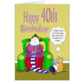 40 o cumpleaños feliz felicitaciones