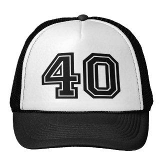 40.o Cumpleaños Gorras De Camionero