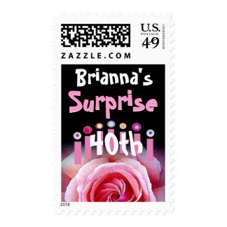 40.o cumpleaños modificado para requisitos sello postal