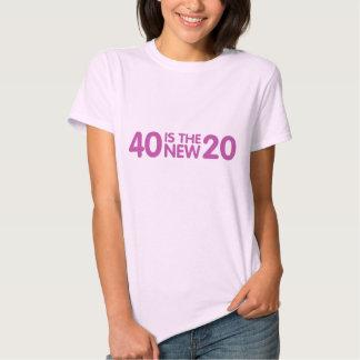 40.o Cumpleaños Poleras