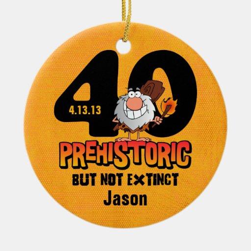 40.o cumpleaños prehistórico adorno para reyes
