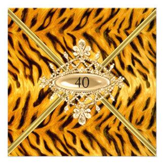 40.o efecto del tigre de Bengala de la fiesta de c Comunicados Personales