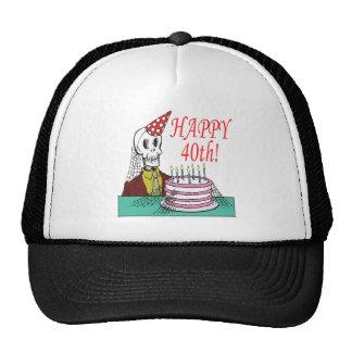 40.o feliz gorra