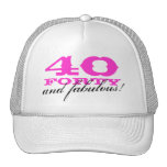 40.o ¡Gorra el | 40 del cumpleaños y fabuloso!