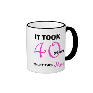40 o Ideas del regalo de cumpleaños para la taza d