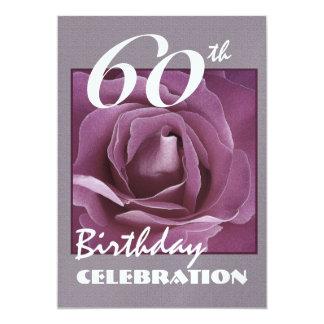 40.o Invitación de la fiesta de cumpleaños - color