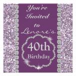 40.o Invitación de la fiesta de cumpleaños de BLIN