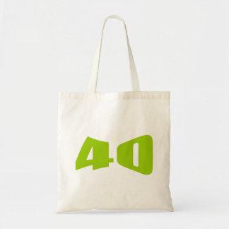 40.o Invitación del aniversario Bolsas