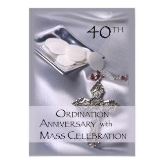 40.o Invitación del aniversario de la ordenación