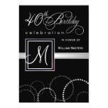 40.o Invitaciones de la fiesta de cumpleaños - con Anuncios