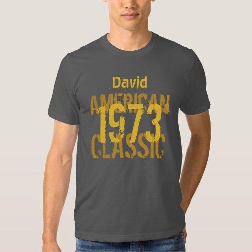 40.o Obra clásica americana V203 del regalo de Playeras