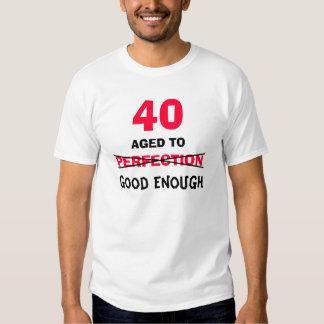 40.o Regalos de cumpleaños para la camiseta de los Camisas