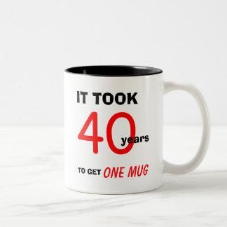 40.o Regalos de cumpleaños para la taza de los