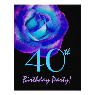 40 o W234 color de rosa púrpura y azul de la plant Anuncios Personalizados