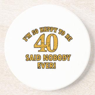 40 os regalos años