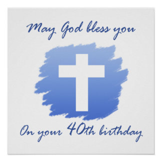 40.os regalos de cumpleaños del cristiano poster