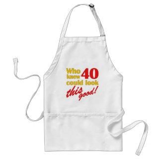 40.os regalos de cumpleaños hilarantes delantales