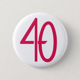 40 Pink Button
