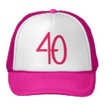 40 Pink Hat