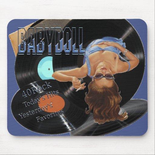 40 Rock Babydoll Mouse Pad