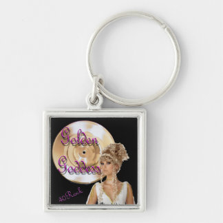 40 Rock Goddess Key Chain